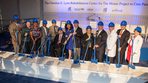 Christine E. Lynn Rehabilitation Center Groundbreaking Ceremony