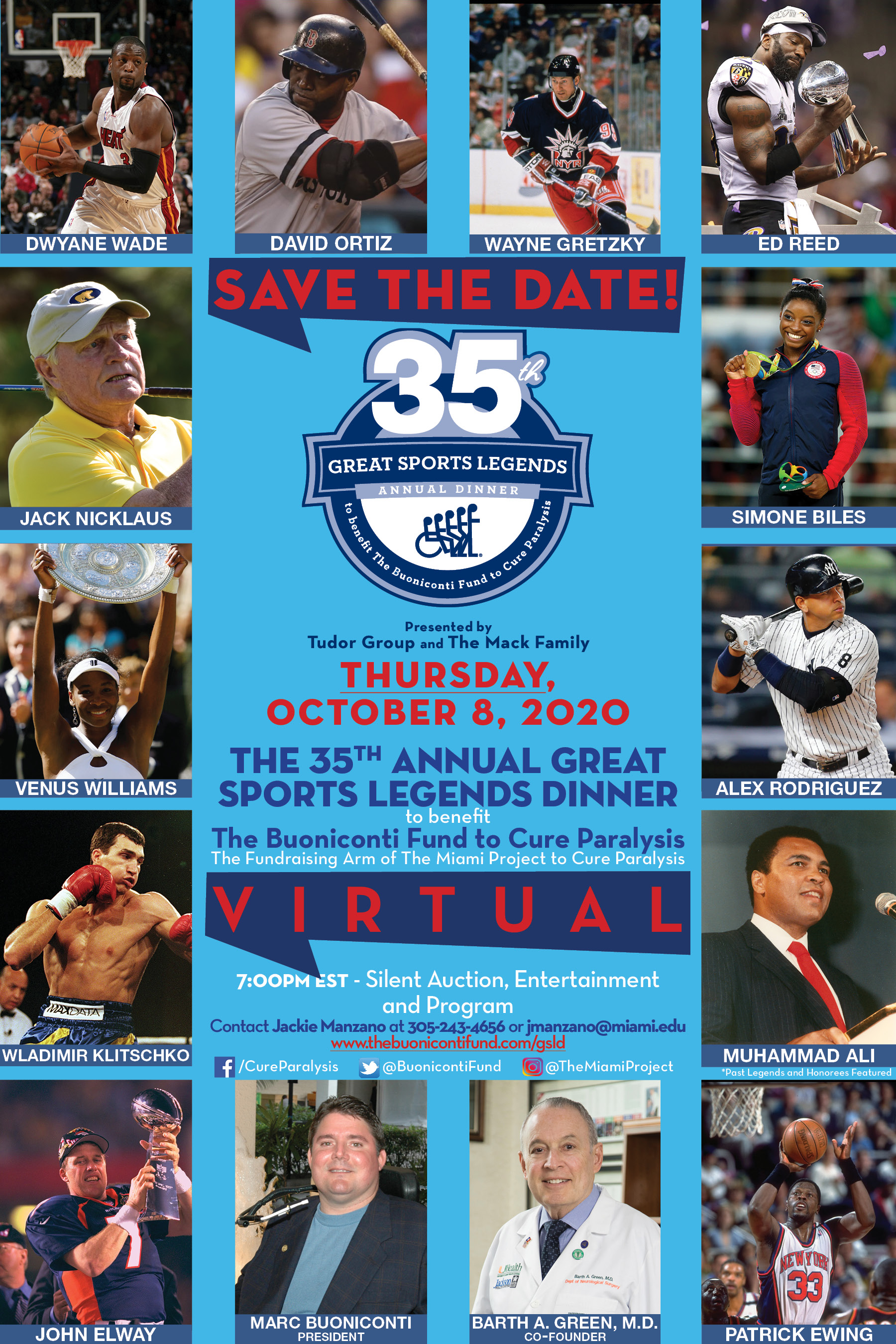 35th Annual Great Sports Legends Dinner
