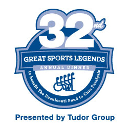32nd Annual Great Sports Legends Dinner presented by Tudor Group