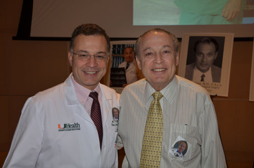 Dr. Allan Levi with Dr. Barth Green