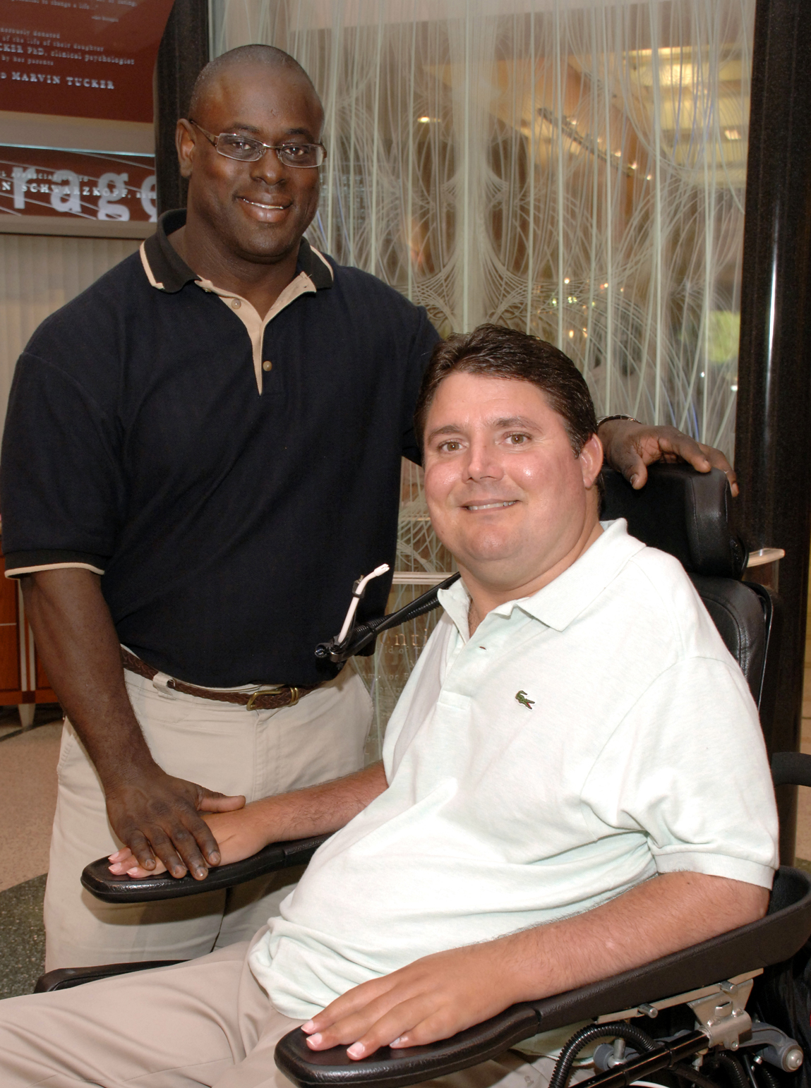 Herman Jacobs and Marc Buoniconti