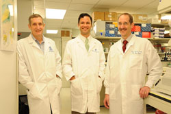 John Bixby, Ph.D., Jeffrey Goldberg, M.D., Ph.D. and Vance Lemmon, Ph.D.