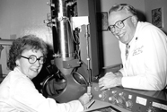 Mary Bartlett Bunge, Ph.D. and Richard P. Bunge, M.D.
